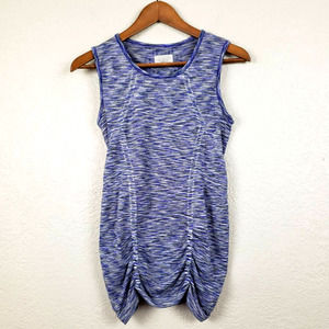 Athleta Athletic Top Long Ruched - S